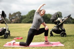 Outdoor fitness classes in Bristol.